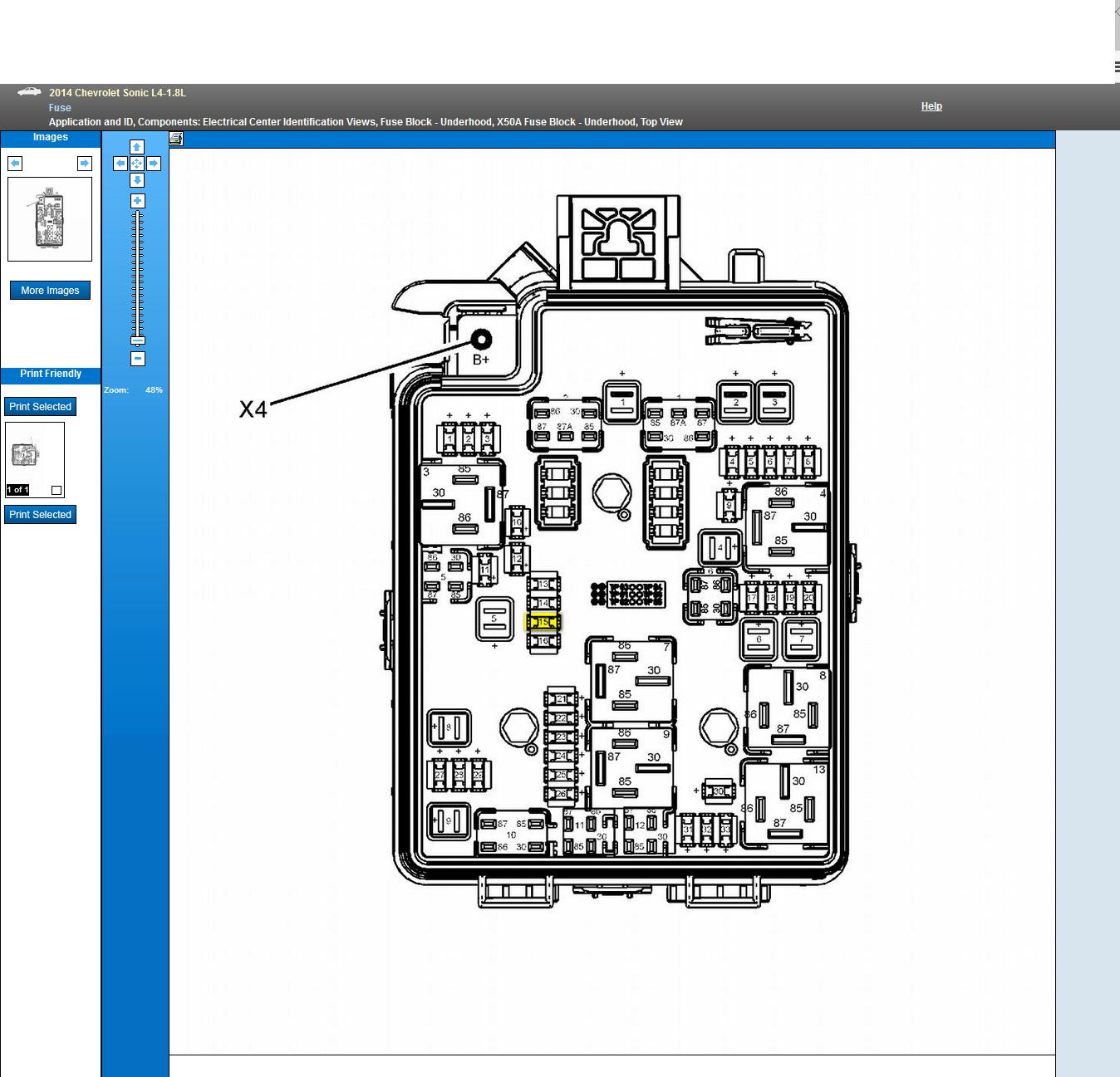 Chevrolet Sonic Fuse Box Online Schematics Diagram 12 Impala I Have 2014 Engine 1 8 And Code P0449 Int Geo