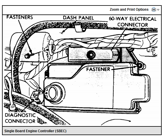 1991 Dodge Pickup Wiring Diagram Sbec