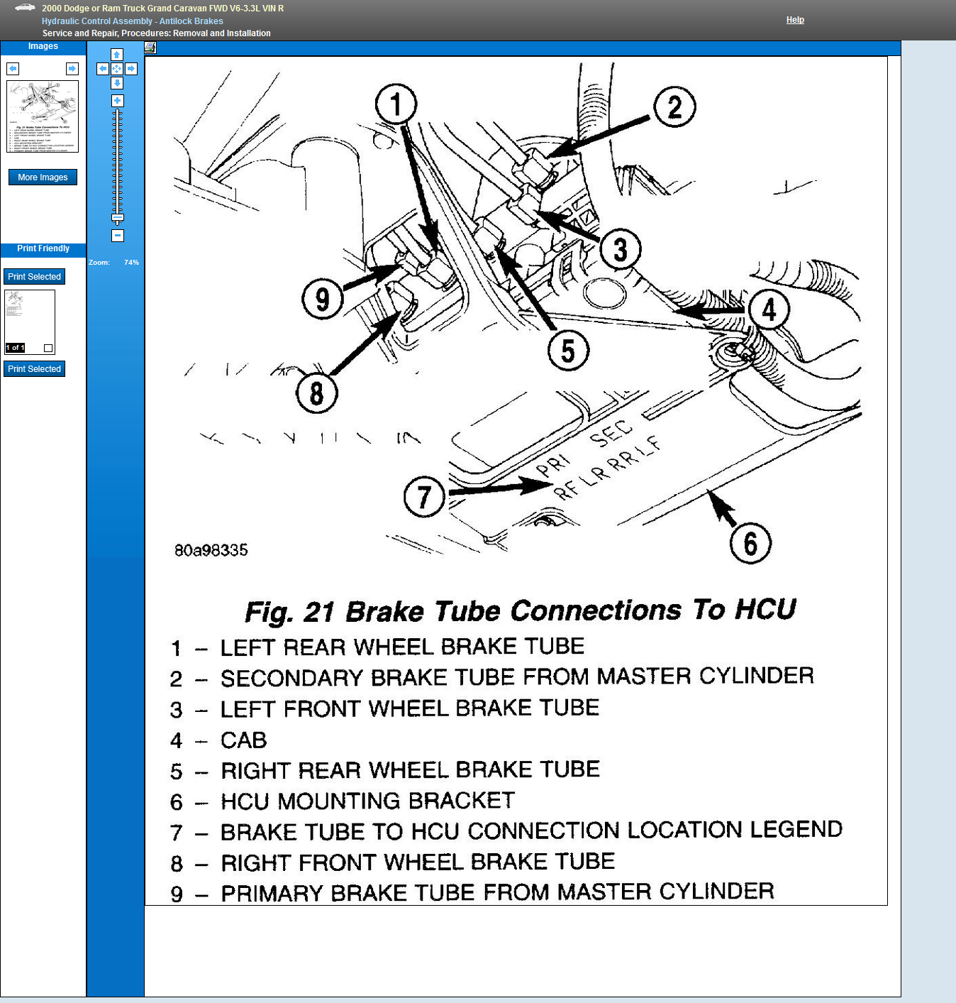 i have a 2000 grand caravan and need to know the brake line routing 1991 Dodge Caravan Serpentine Belt Diagram