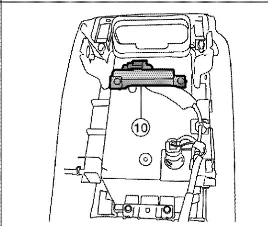 I Need To Replace The Intelligent Key Antenna On My 2013 Altima I