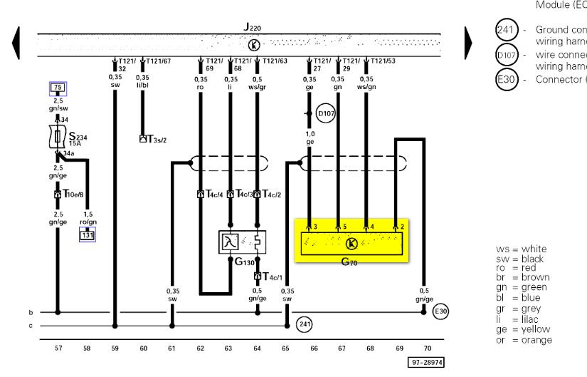 2002 Passat Fuse Diagram