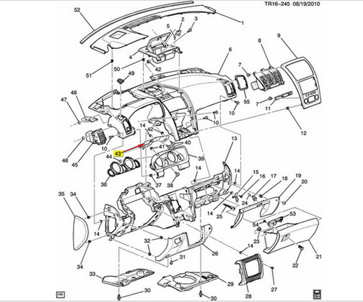 service manual  2008 gmc sierra 3500 dash removal diagram