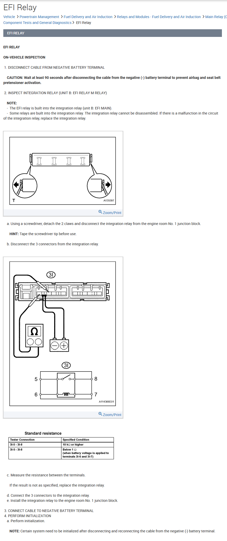 2011 Toyota Camry Engine Coolant Temperature Circuit Obdii Engine