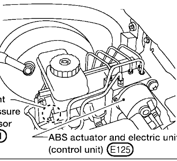 Where Is The Electronic Brake Control Module Ebcm Located Of 2006