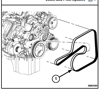 Need a    diagram    for    serpentine       belt    on 2014 Grand    Cherokee    70000 Just a    diagram