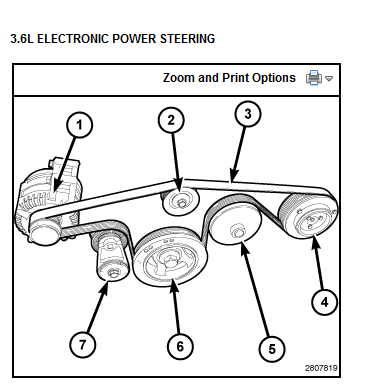 Need a diagram for serpentine belt on 2014 Grand Cherokee