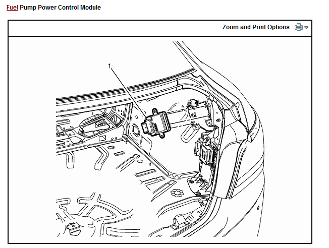 I want to know where the fuel control module is located on my 2015