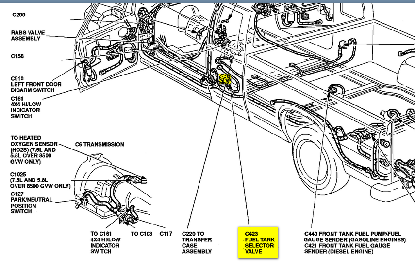 1994 F150 4 9 Engine Diagram