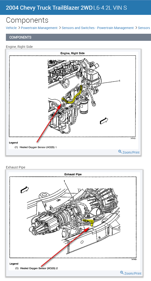 trailblazer exhaust diagram legend wiring diagrams thumbs Grand AM Exhaust Diagram i just need a picture of where my o2 sensor are at on my 2004 chevy chevrolet trailblazer exhaust diagram trailblazer exhaust diagram legend
