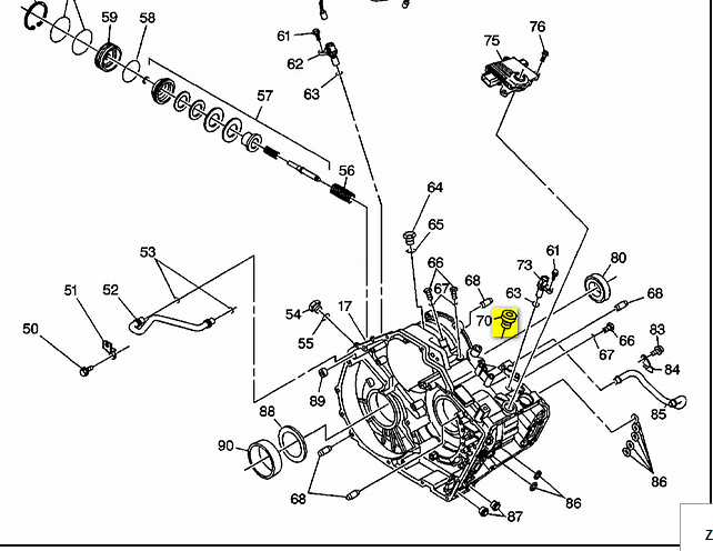 2008 Suzuki Xl7 Awd Automatic  I Need Diagram Of Front