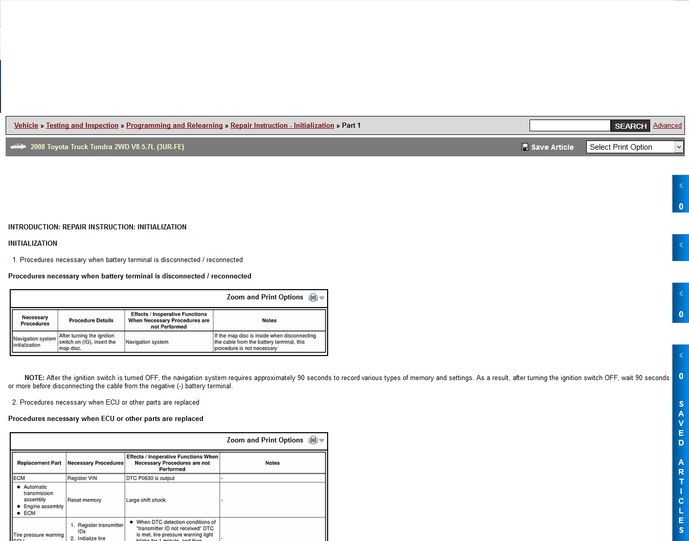 Toyota Sienna Service Manual: Check that initialization has been completed