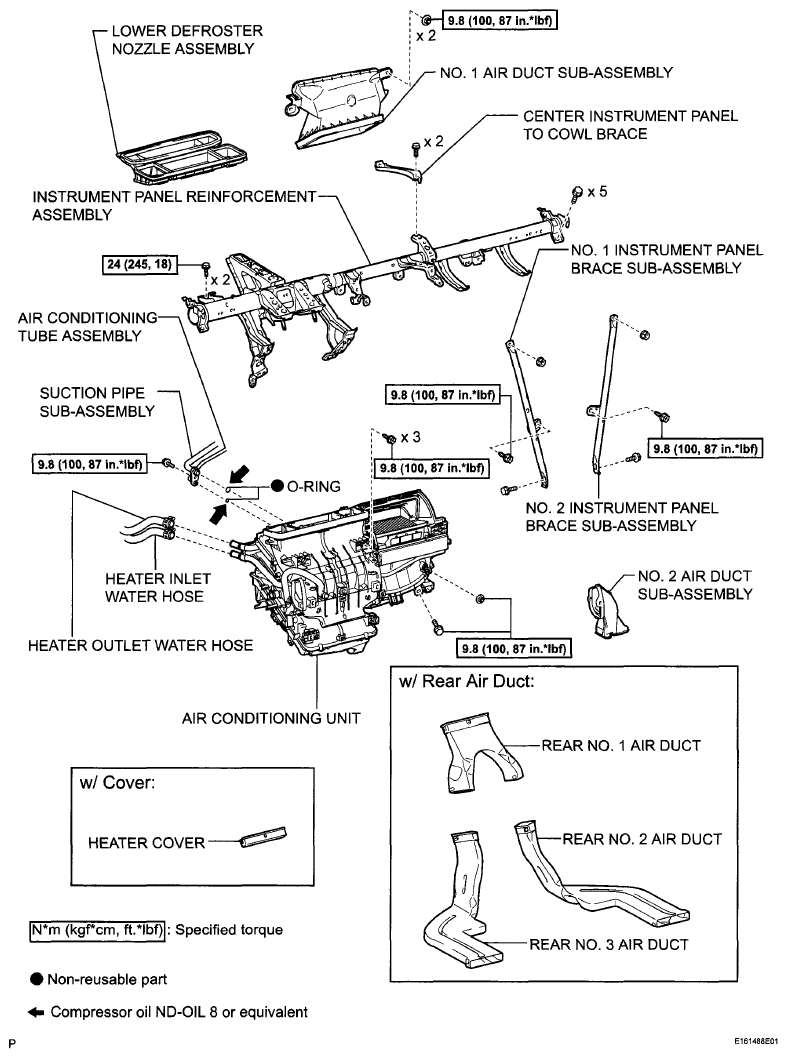 Toyota Sienna Service Manual: Air Outlet Damper Position Sensor Circuit