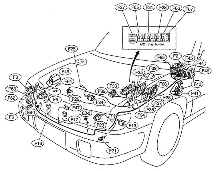 I Am Looking For A Wire Diagram For A 2000 Subaru Forestor