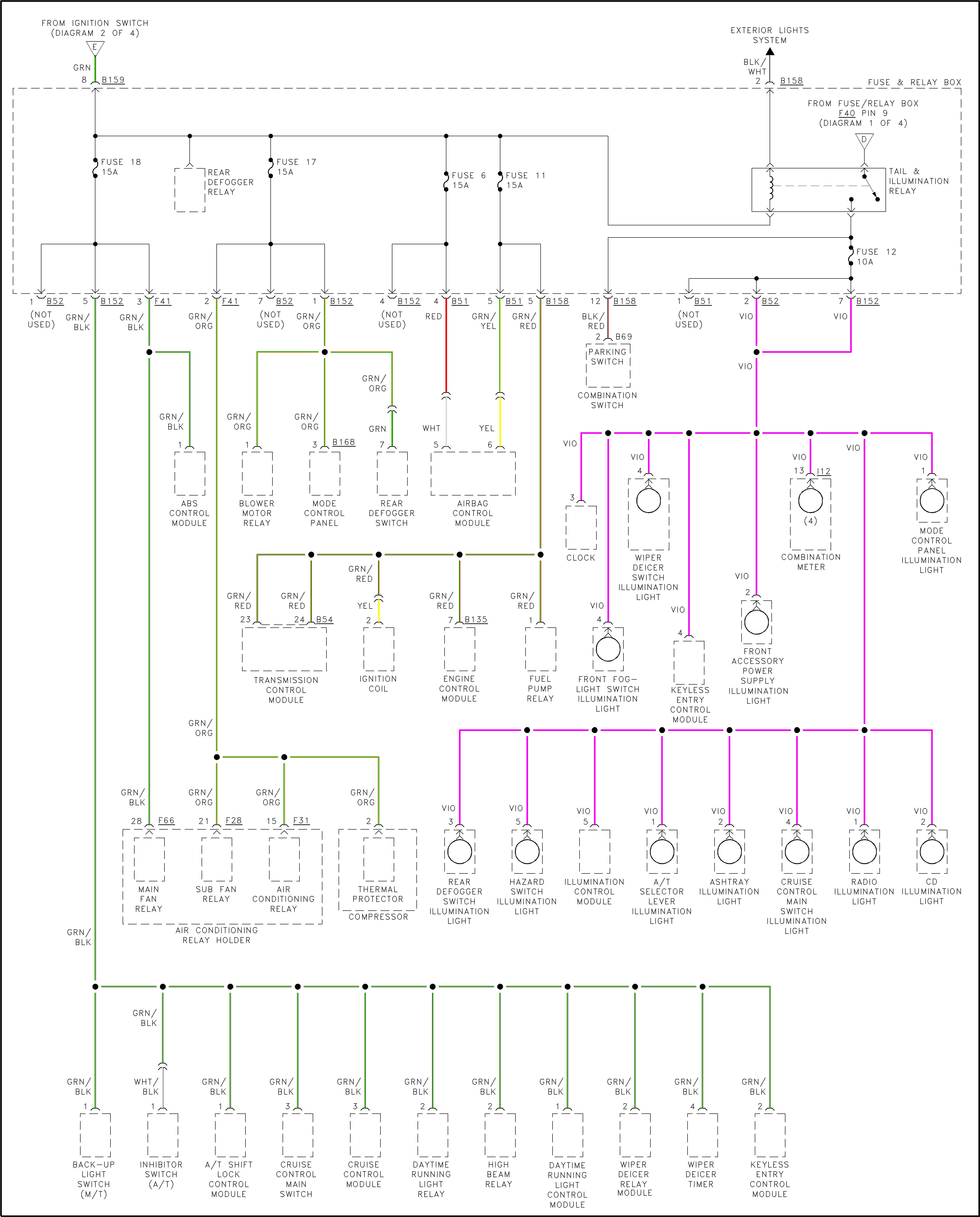 2000 Subaru Outback Wiring Diagram Power Source Subaru Legacy