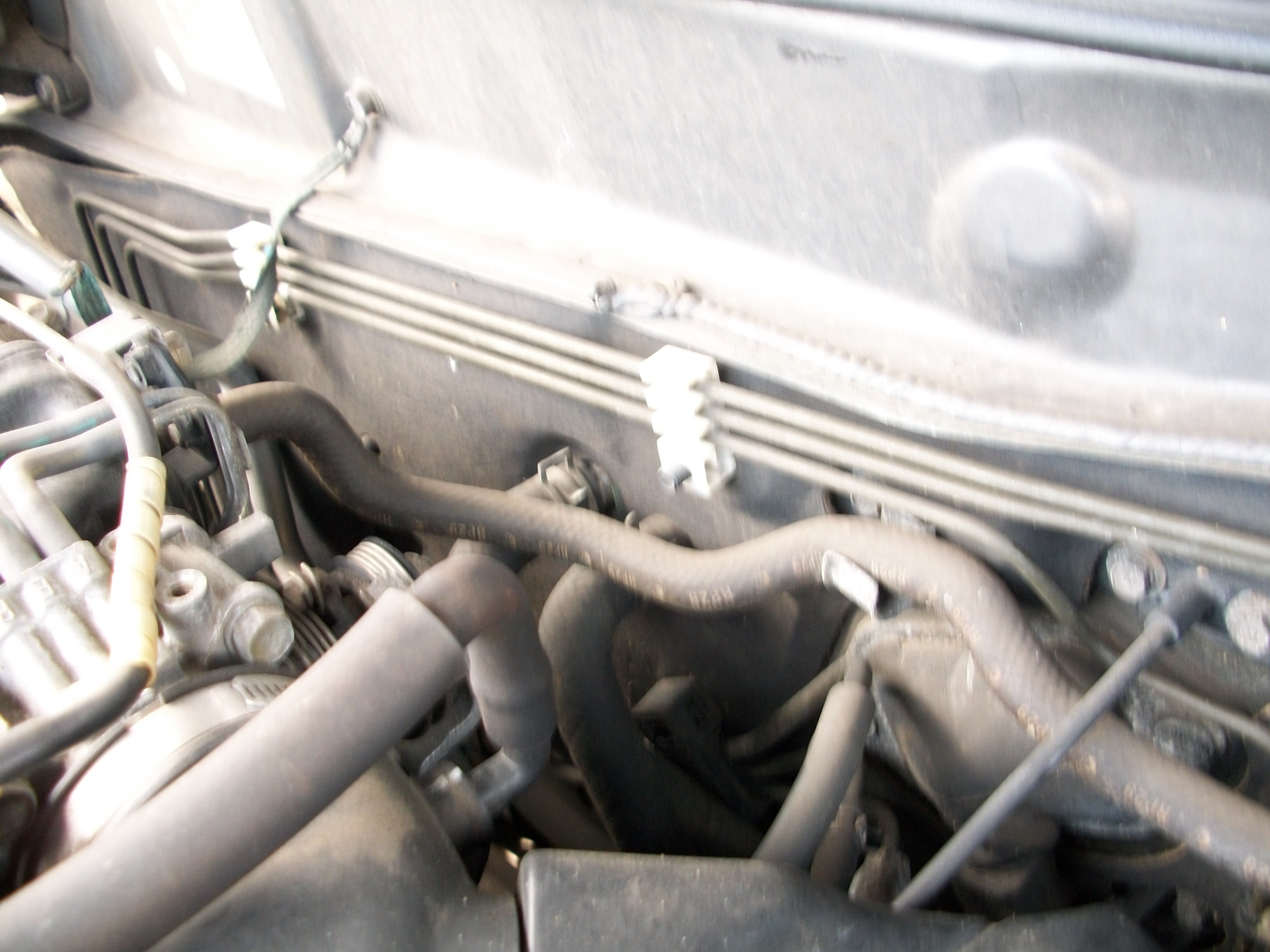 I Have A Wet Floor Just In Front Of The Driver Chair 2001 Mitsubishi Galant Ac Drain
