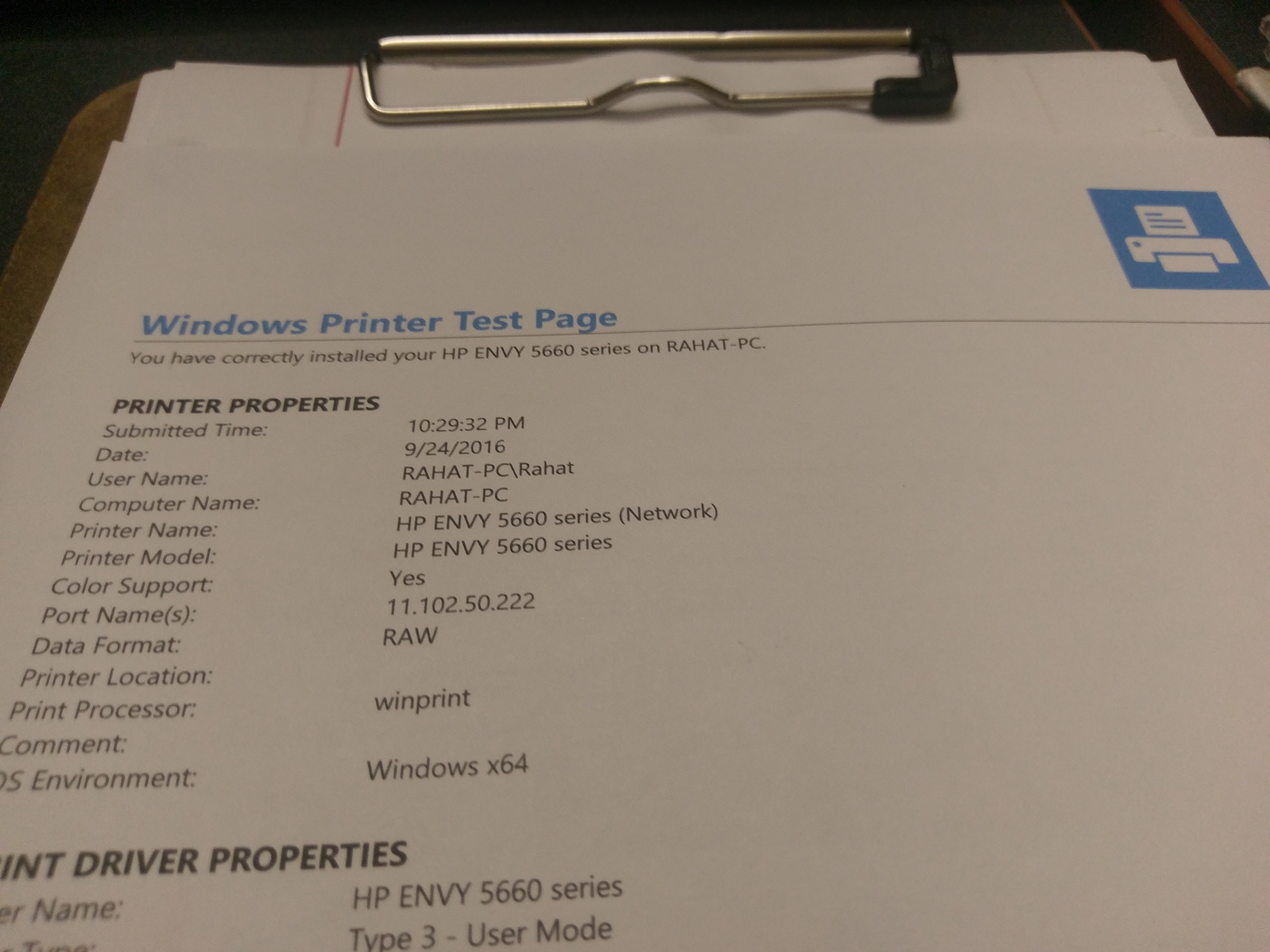 I'm trying to find a printer claim code from my hp envy 5660 printer