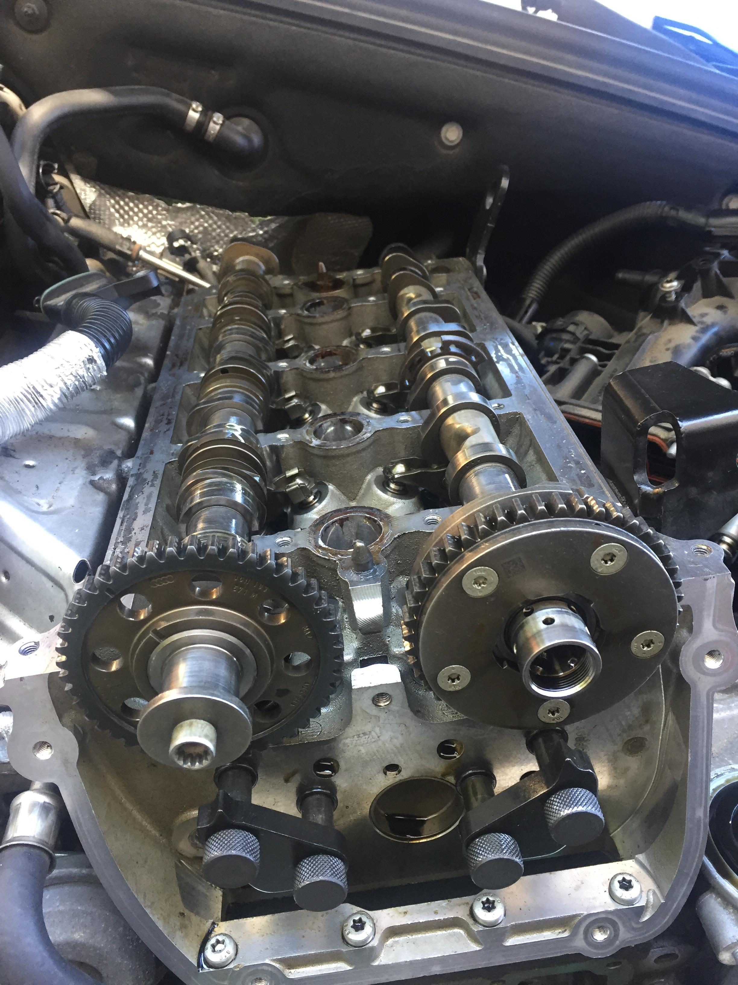 I'm working on a 2010 Audi A4 Quattro 2 0T  The timing chain