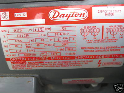 DOC] ➤ Diagram Dayton Electric Motor Capacitor Wiring ... Dayton Motor Wiring Diagram Volt on