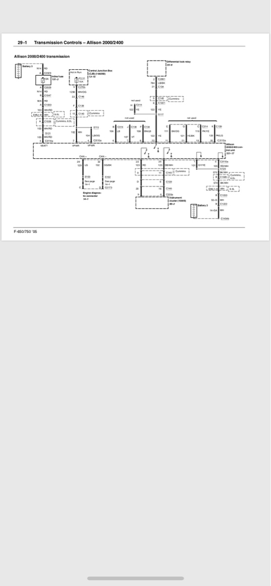 Allison 2000 2400 Tcm Wiring Diagram Allison Transmission Md3060