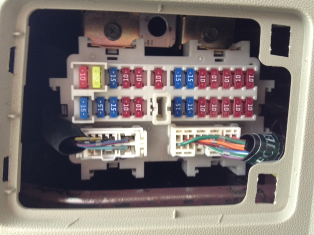 infiniti qx56 2007 infiniti qx 56 left rear passenger door 2007 Infiniti Qx56 Wiring Diagram here is what my fuse box looks like if thats the right one, then which fuses are they? thx 2008 Infiniti QX56