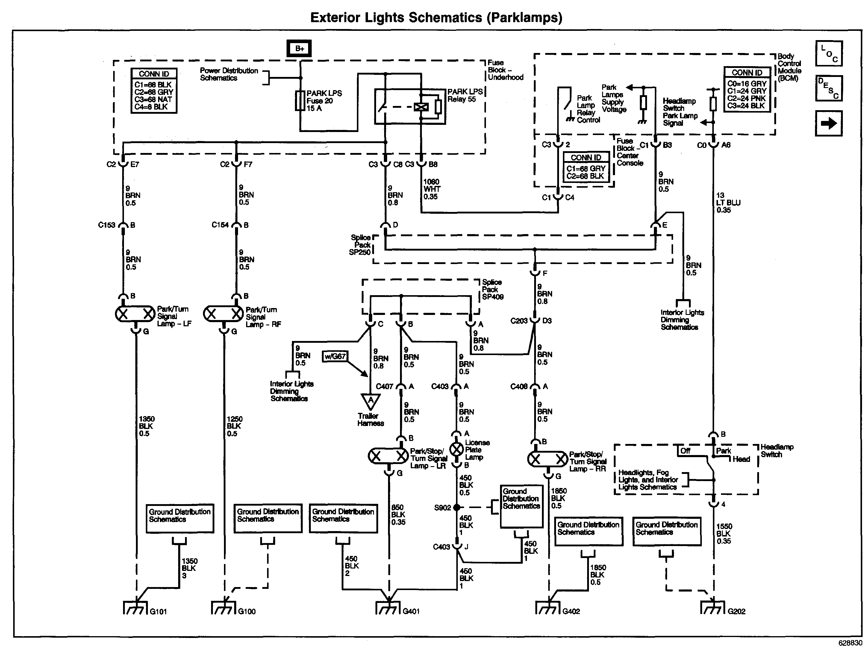 2001 Pontiac Aztek Fuel Pump Wiring Diagram