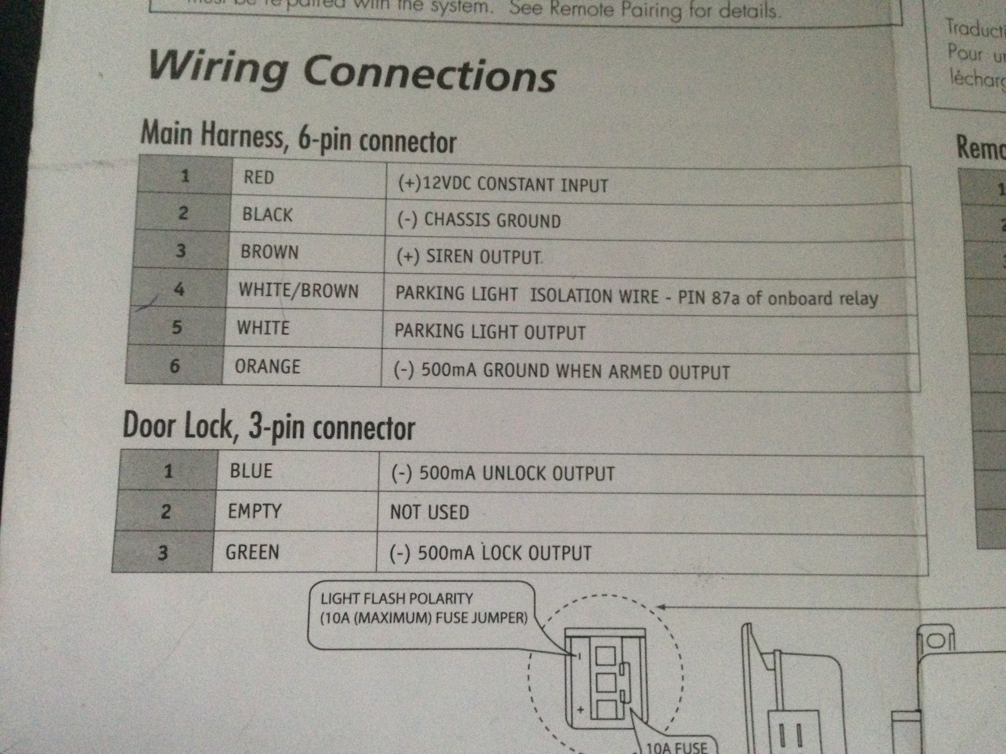 Im Trying To Install A New Viper 5806v Alarm Into My 1989 4runner Wiring Harness Imagejpegimagejpeg