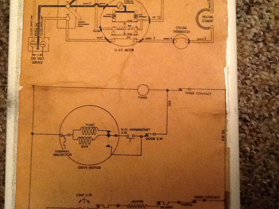 I put a new heating element into an old maytag model DE406. As I was De Maytag Electric Dryer Wiring Diagram on