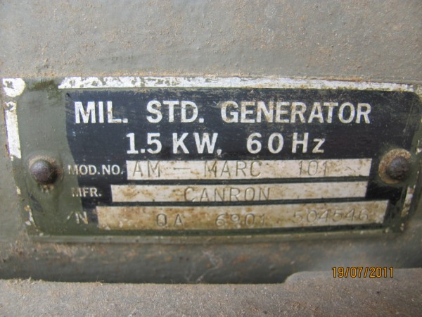 My Military Portable Gas Generator  1 5 Kw  Was Working Fine Last Night Till It Stopped