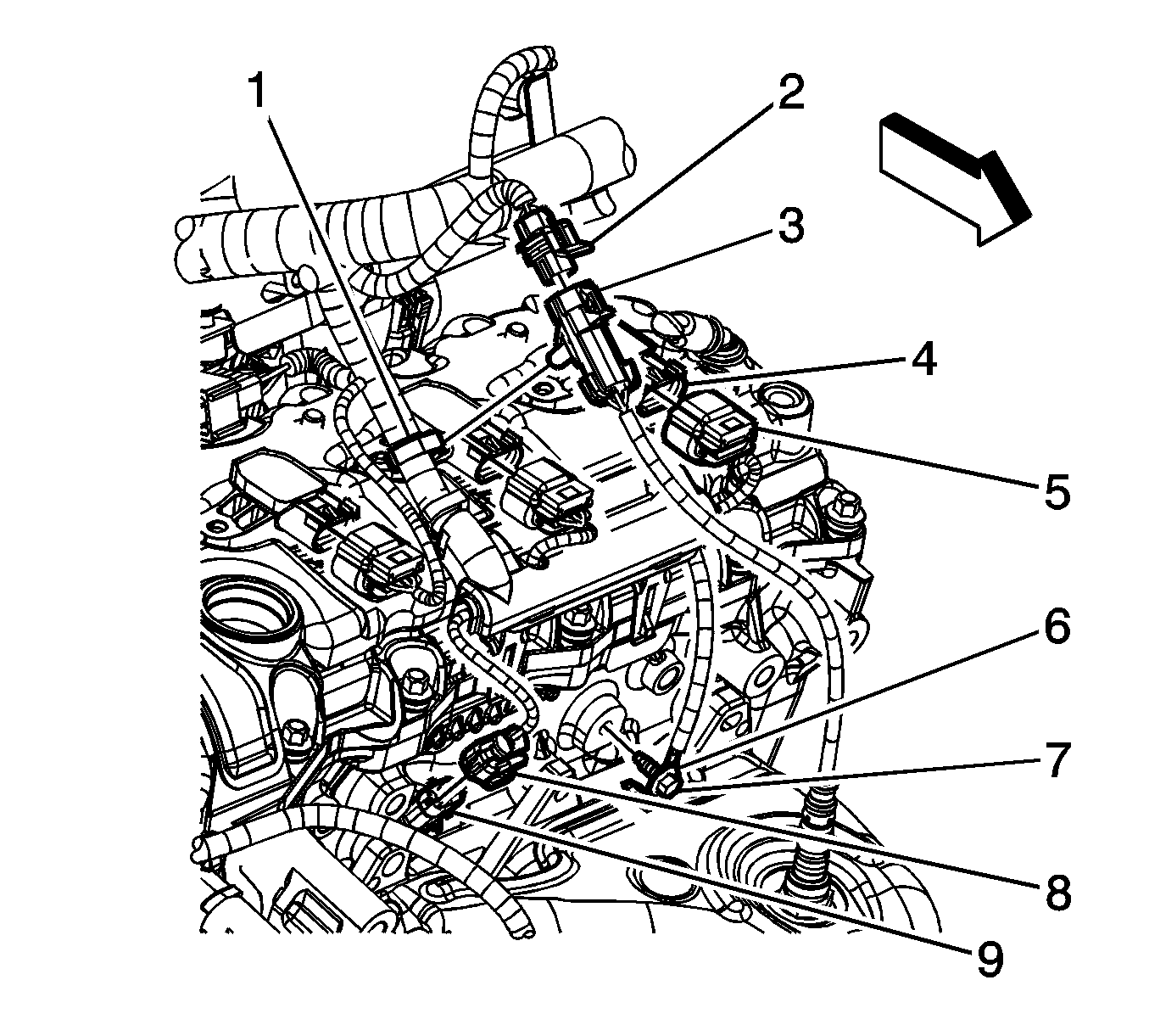 2012 chevy traverse engine diagram camshaft sensor