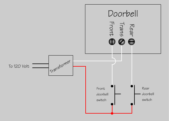 2 door chime wiring schematic wiring library diagram h7 ring doorbell transformer wiring diagram at Doorbell Wiring Diagram Transformer