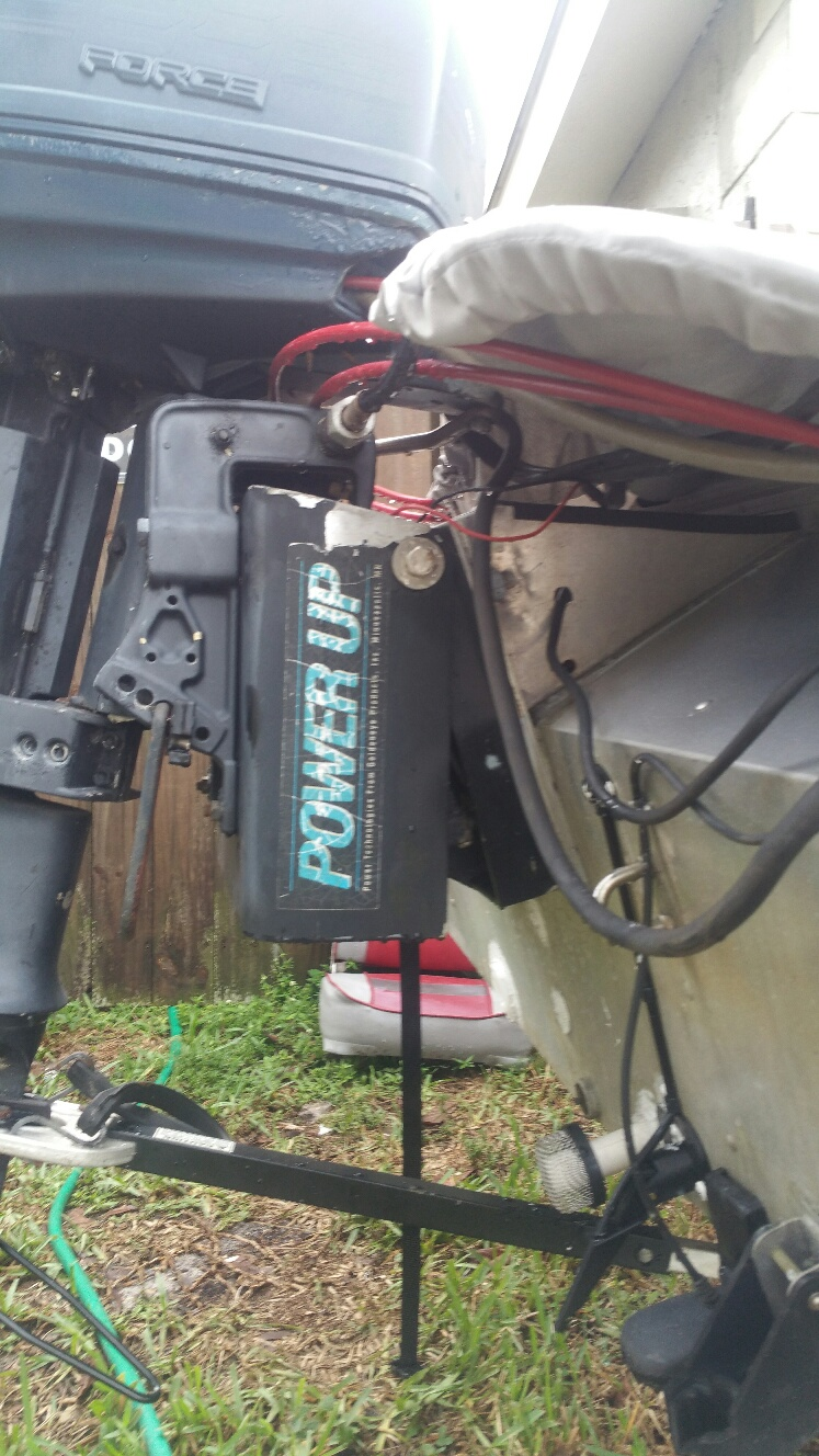 I have a 1988 blue fin bass dominator that has a power up for Boat lift motors near me