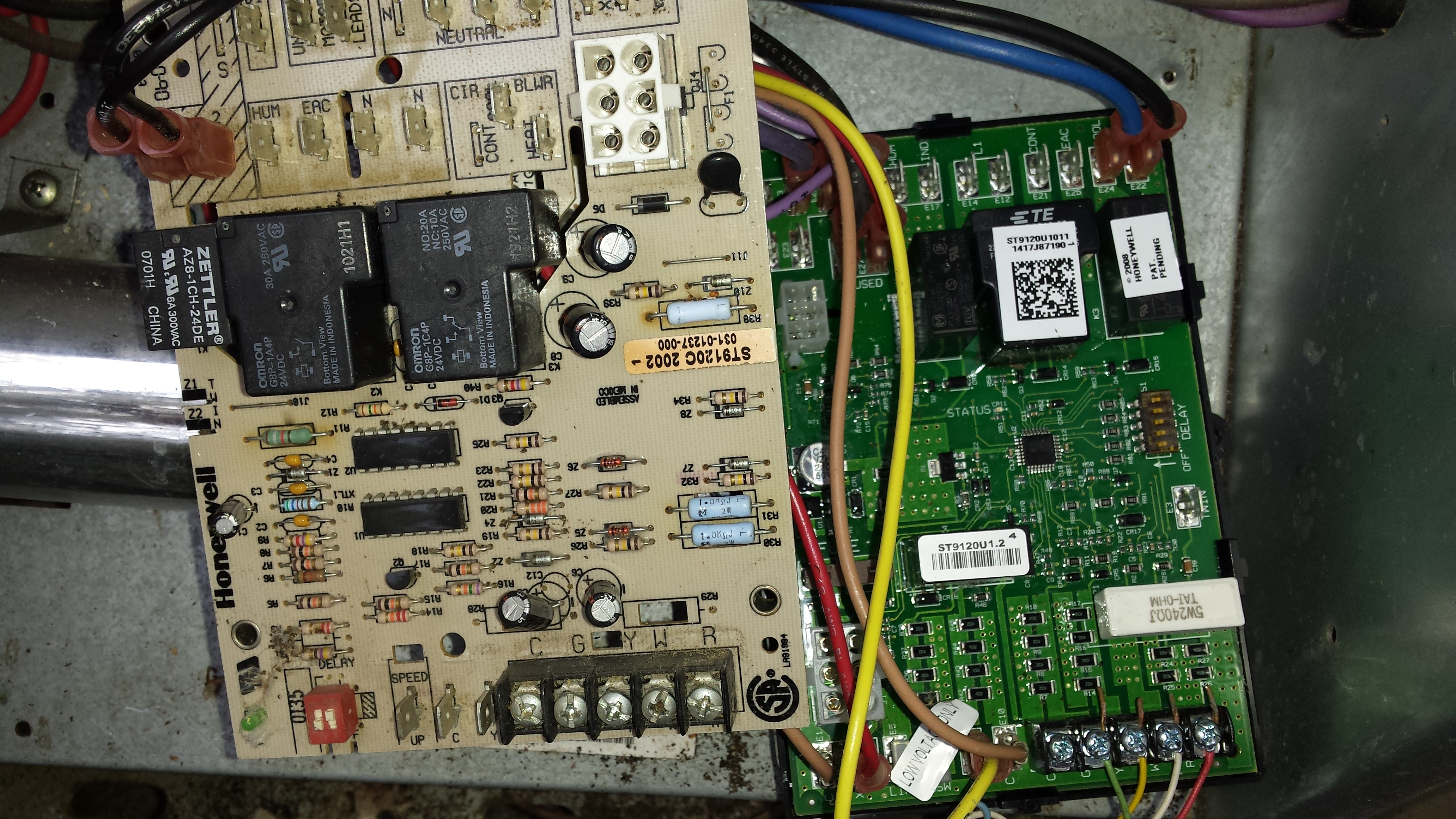 I Am Replacing A Havac Controller Where Do The S1 And S2 Wiresboth Totaline Thermostat P274 Wiring Diagram 20151121 154223