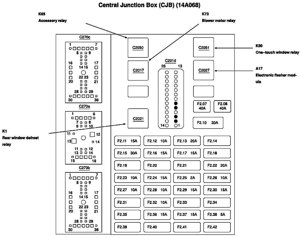 2000 Ford Focus Relay Diagram 2000 Free Engine Image For User Manual