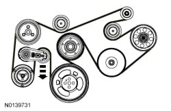 7 3 Powerstroke Serpentine Belt Diagram