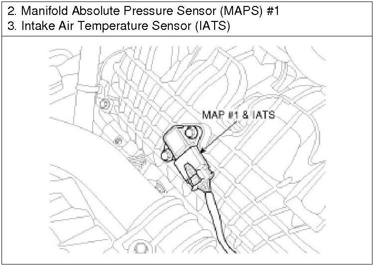 Where is the MAP sensor on a 2011 Hyundai Sonata 2 0T located??
