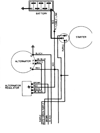 do you have a diagram for installing an alternator