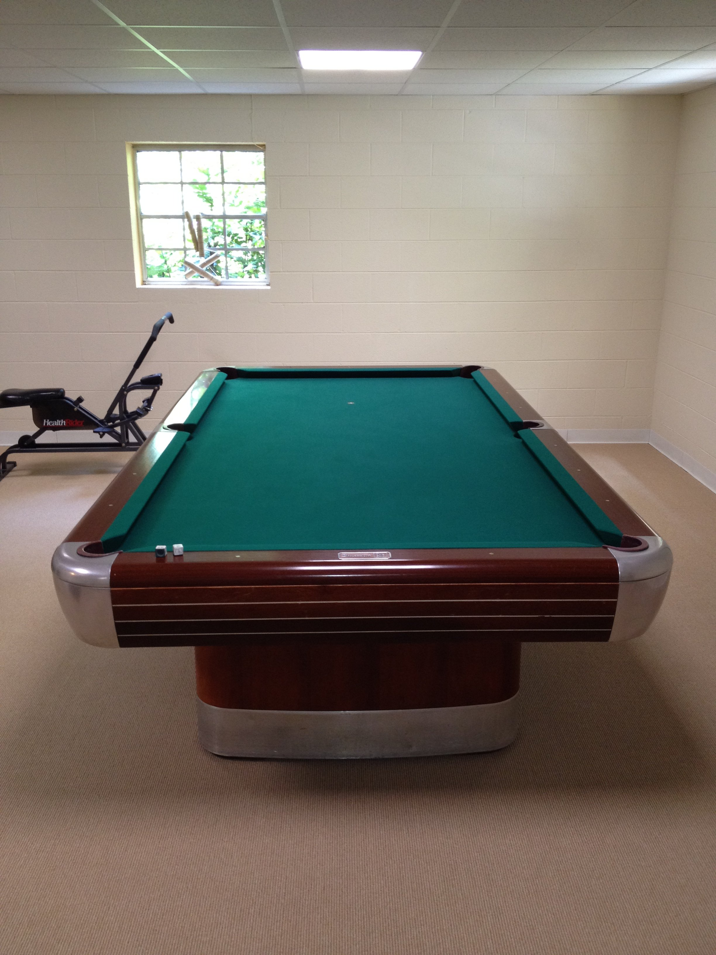 I have a Brunswick Anniversary pool table Model D C It has 3