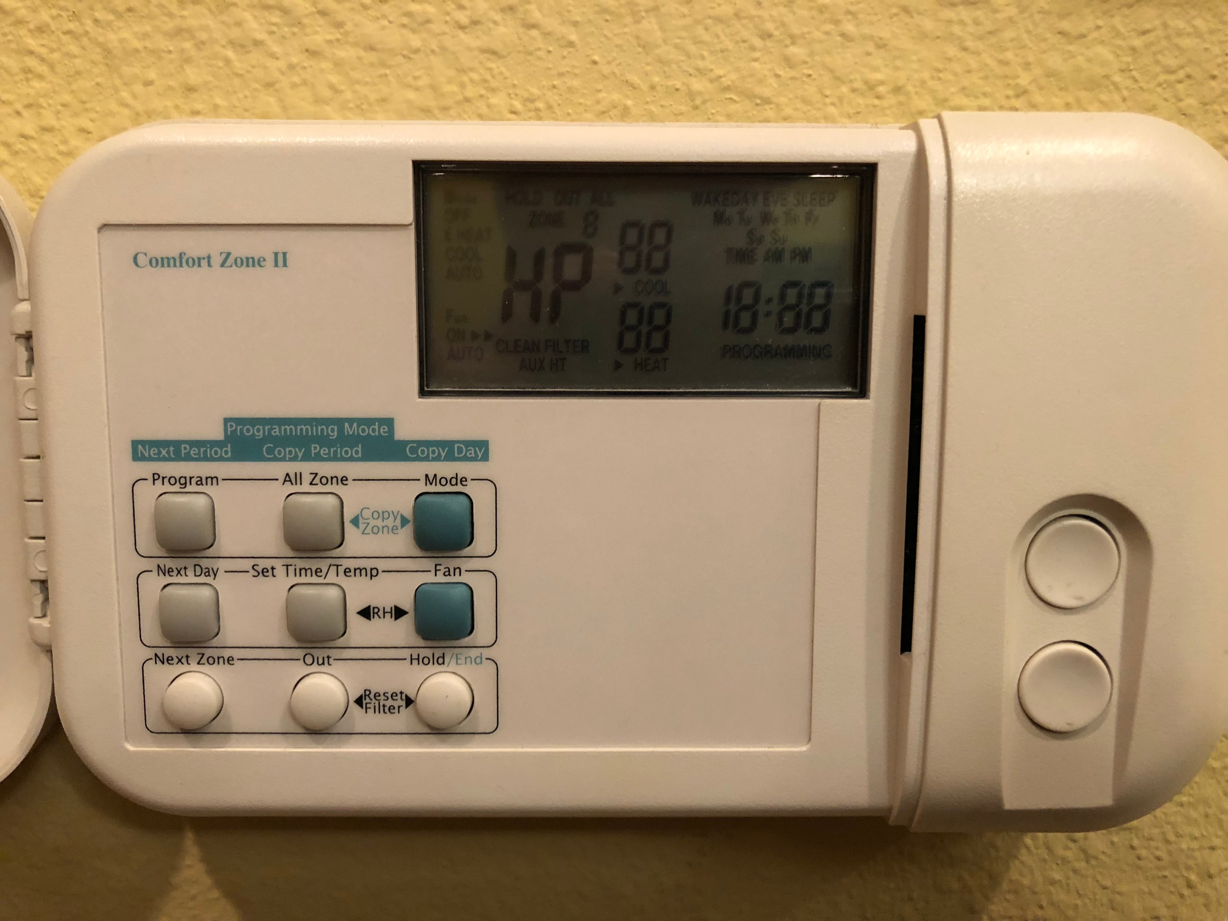 i have a 2 zone carrier system in my home there s a digital thermostat that has been great. Black Bedroom Furniture Sets. Home Design Ideas
