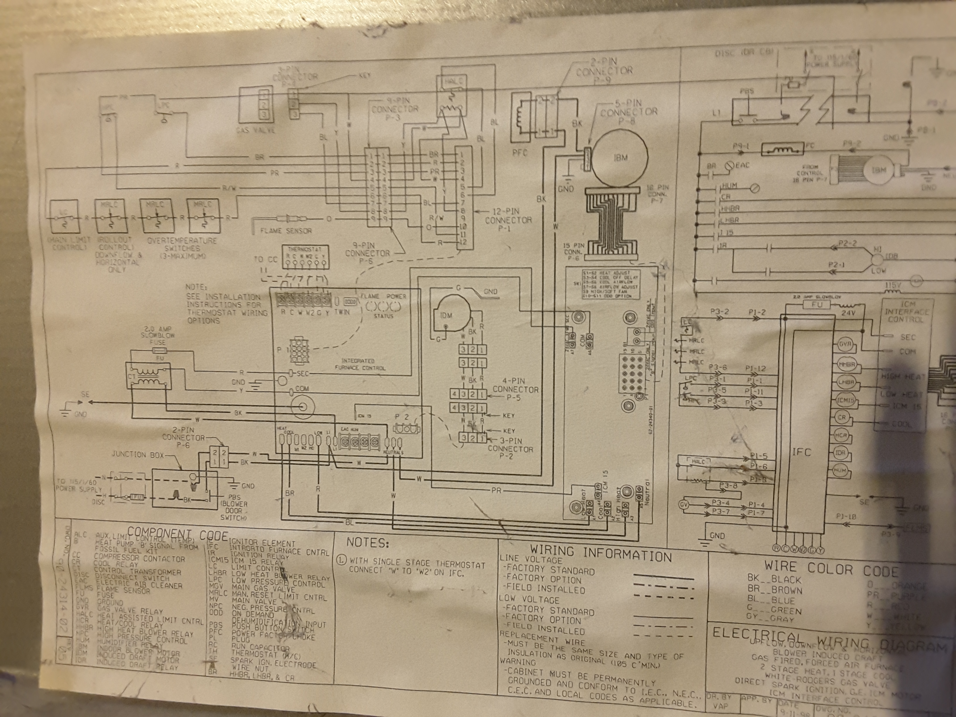 I Have A Ruud Silhouette Ii Plus Lxe Two Stage Furnace This Morning Schematic Wiring Diagram 1452376293404 1671509041