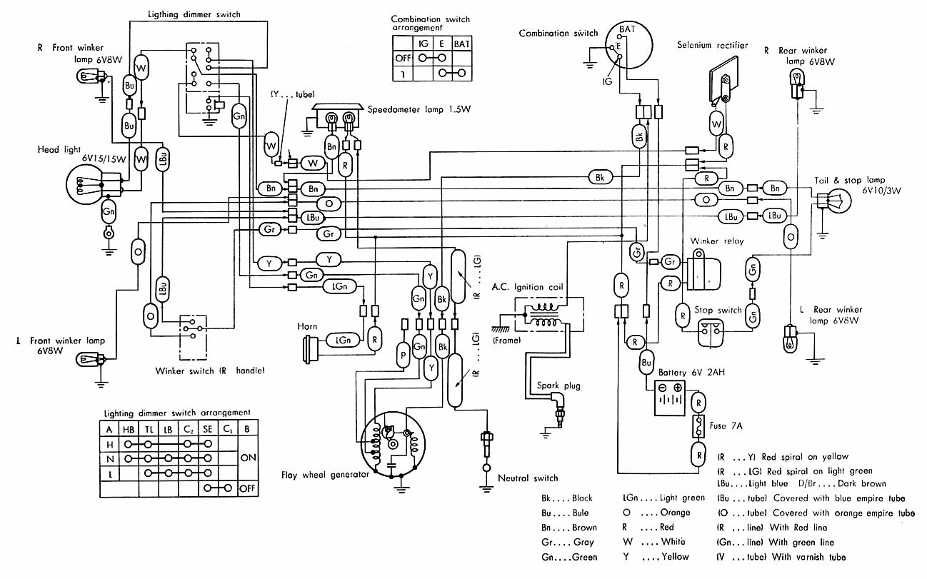 Honda 50 Wiring Diagram Schematics Eton I Have A Cub 1965 The Engine Was Replaced With 140cc Sfx