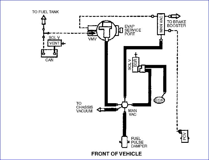 Mazda Tribute Vacuum Hose Diagram