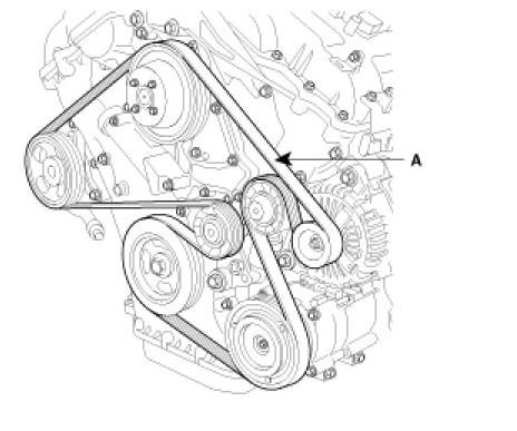 Looking for serpintine belt    diagram    for    2008       kia       sorento    lx
