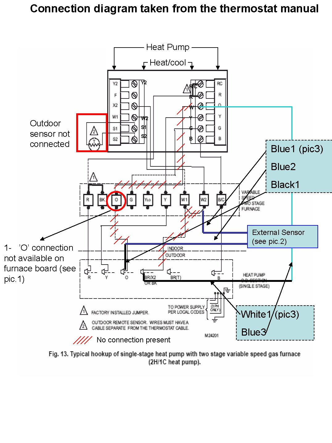 2009-12-12_173414_Furnace_connections_Page_1  Gas Furnace Thermostat Wiring Diagram Wires on roll out switch, coleman evcon, typical central ac, for lennox, blower motor, 2 wire thermostat, gms80453anbd, mobile home intertherm, 120 for old, air temp,