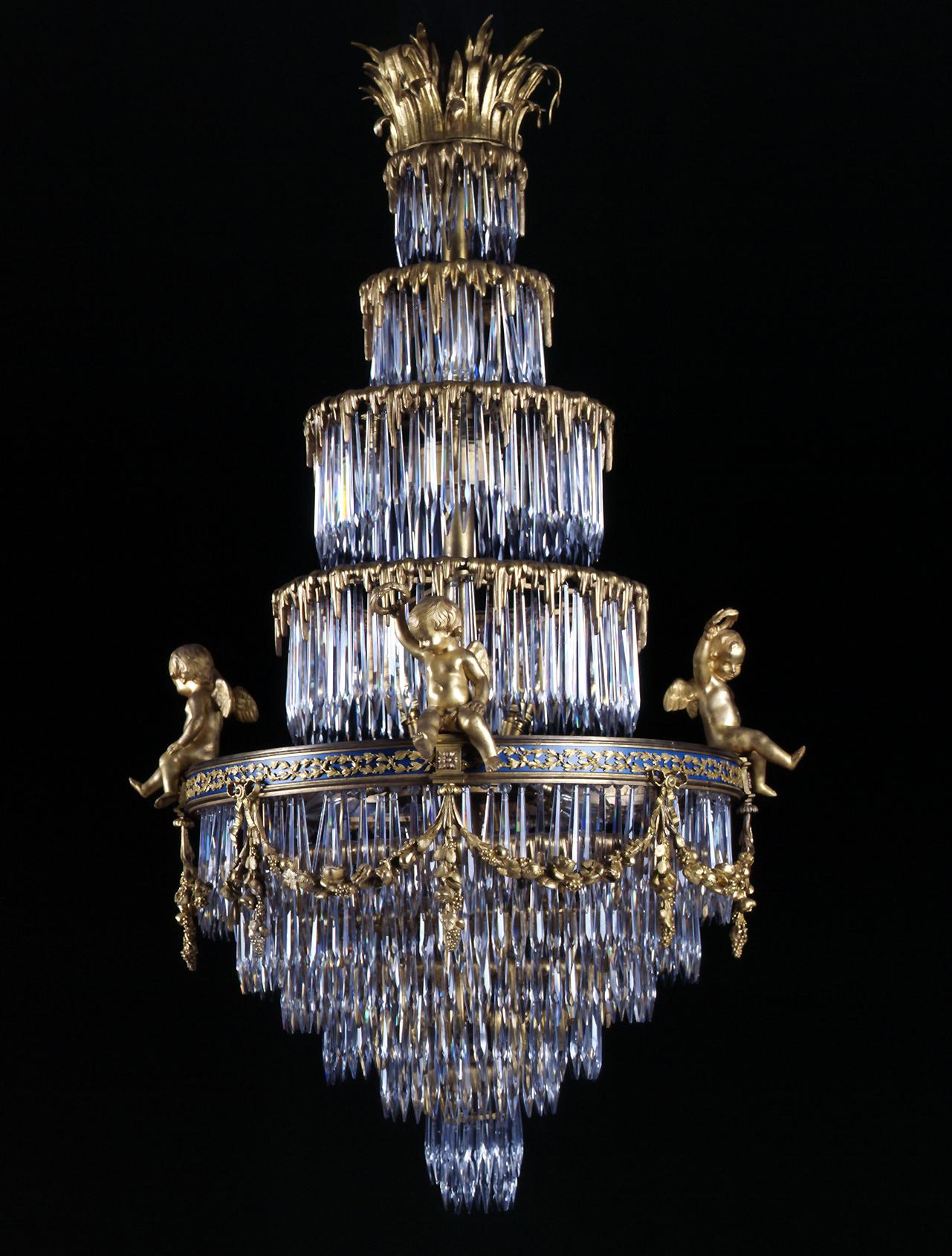 antique Baccaret French Crystal Chandelier.jpg
