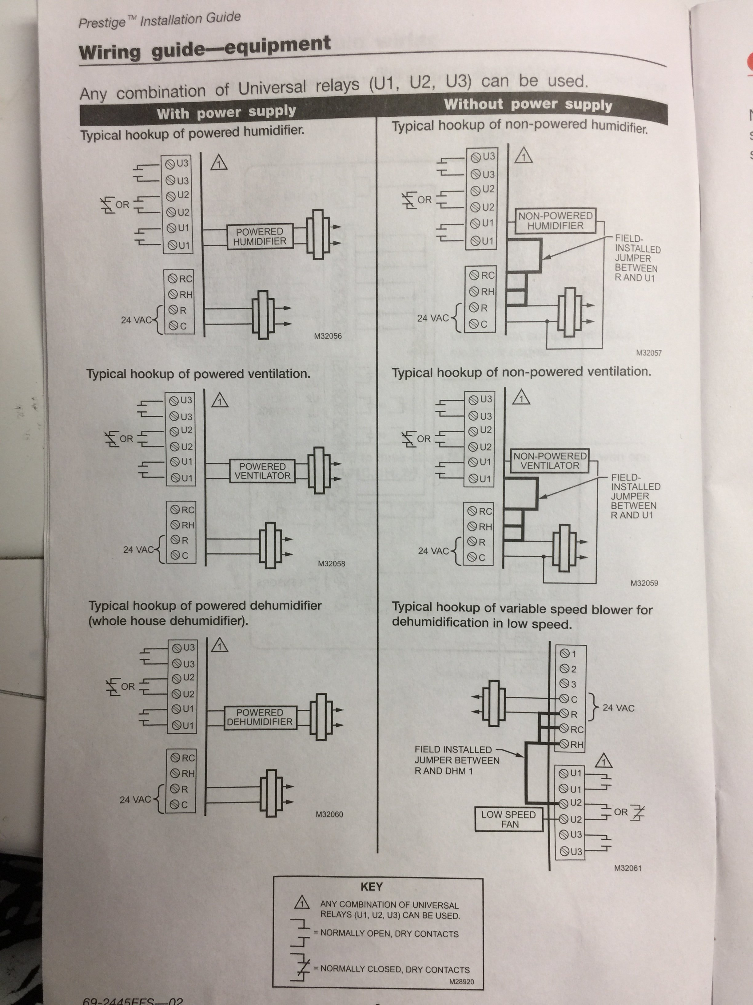 Im Installing A Aprilaire 600 Humidifier With Model 60 400 Wiring Diagram Img 0850