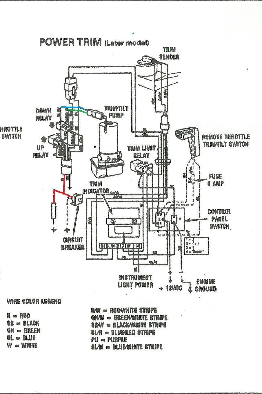 Tilt Trim Wiring Diagram from f01.justanswer.com