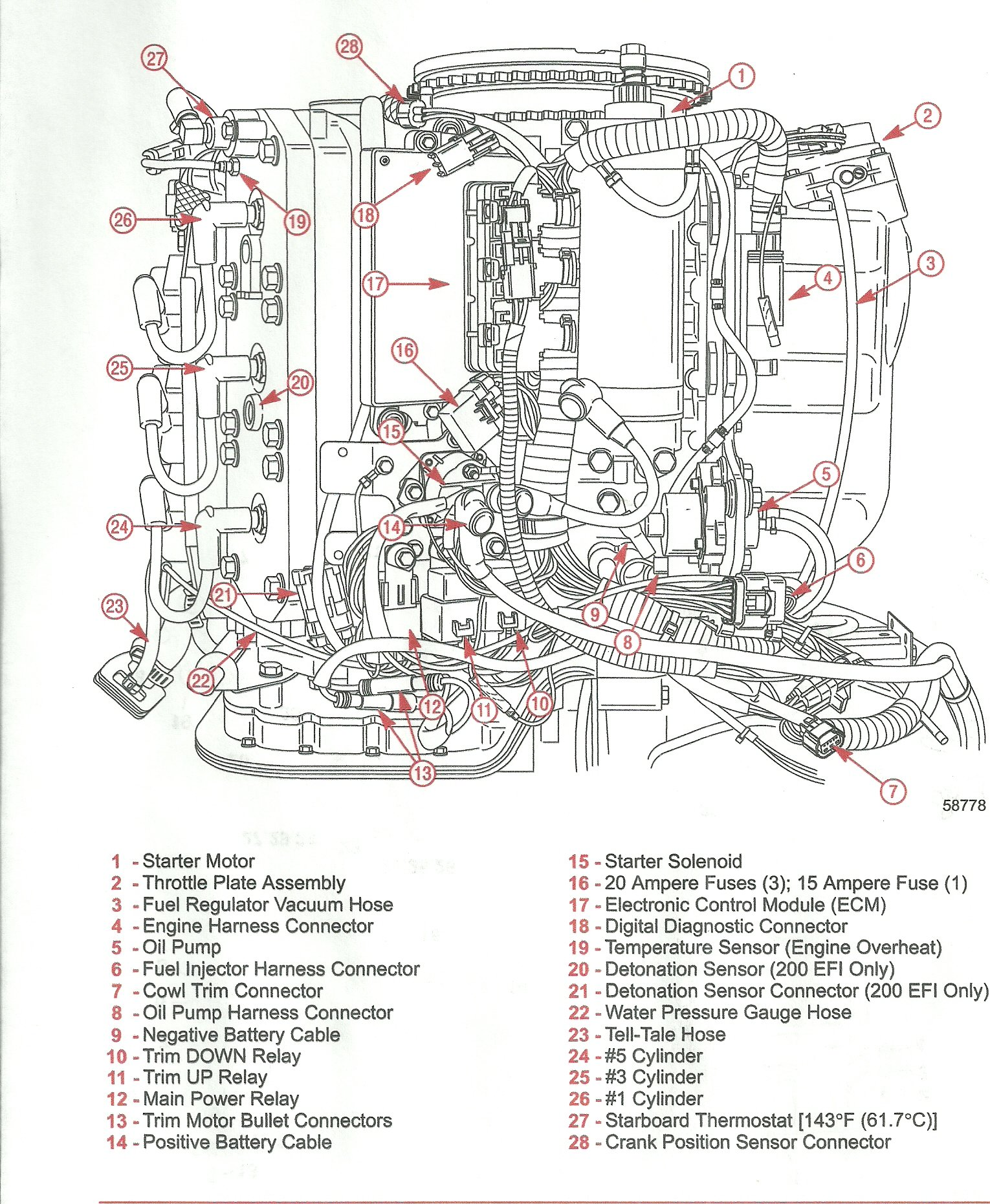 Mercury 150 Xr6 Diagram Electronic on engine fuel pump diagram