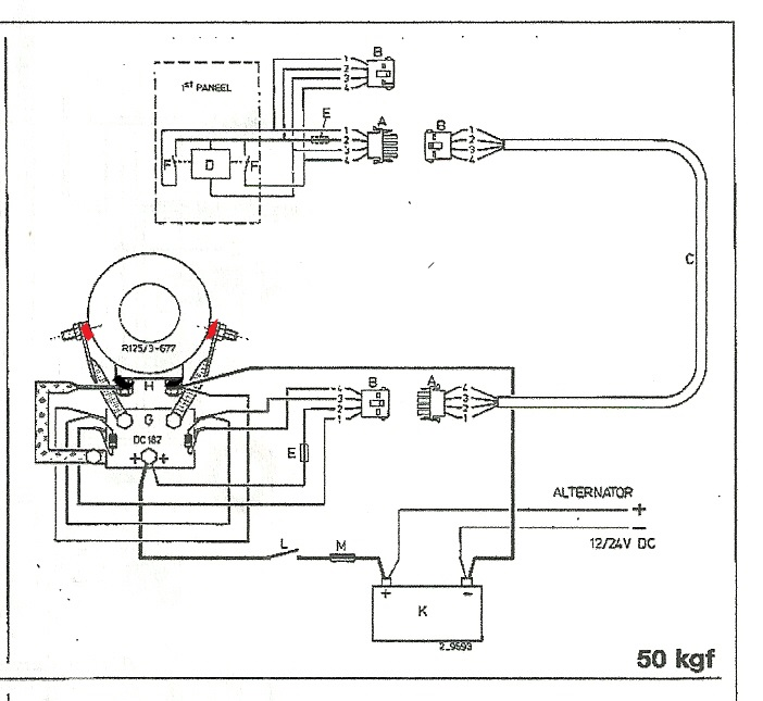vetus bow thruster wiring diagram bow thruster wiring diagram