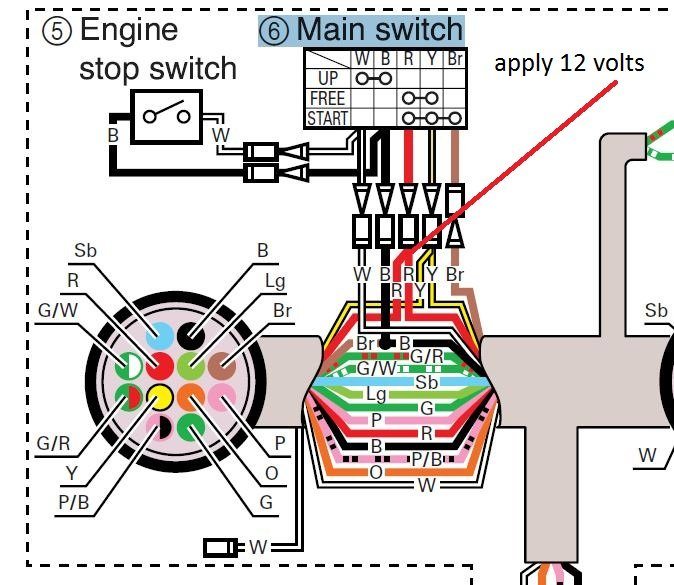 Wiring Diagram Marine Fuel Gauge