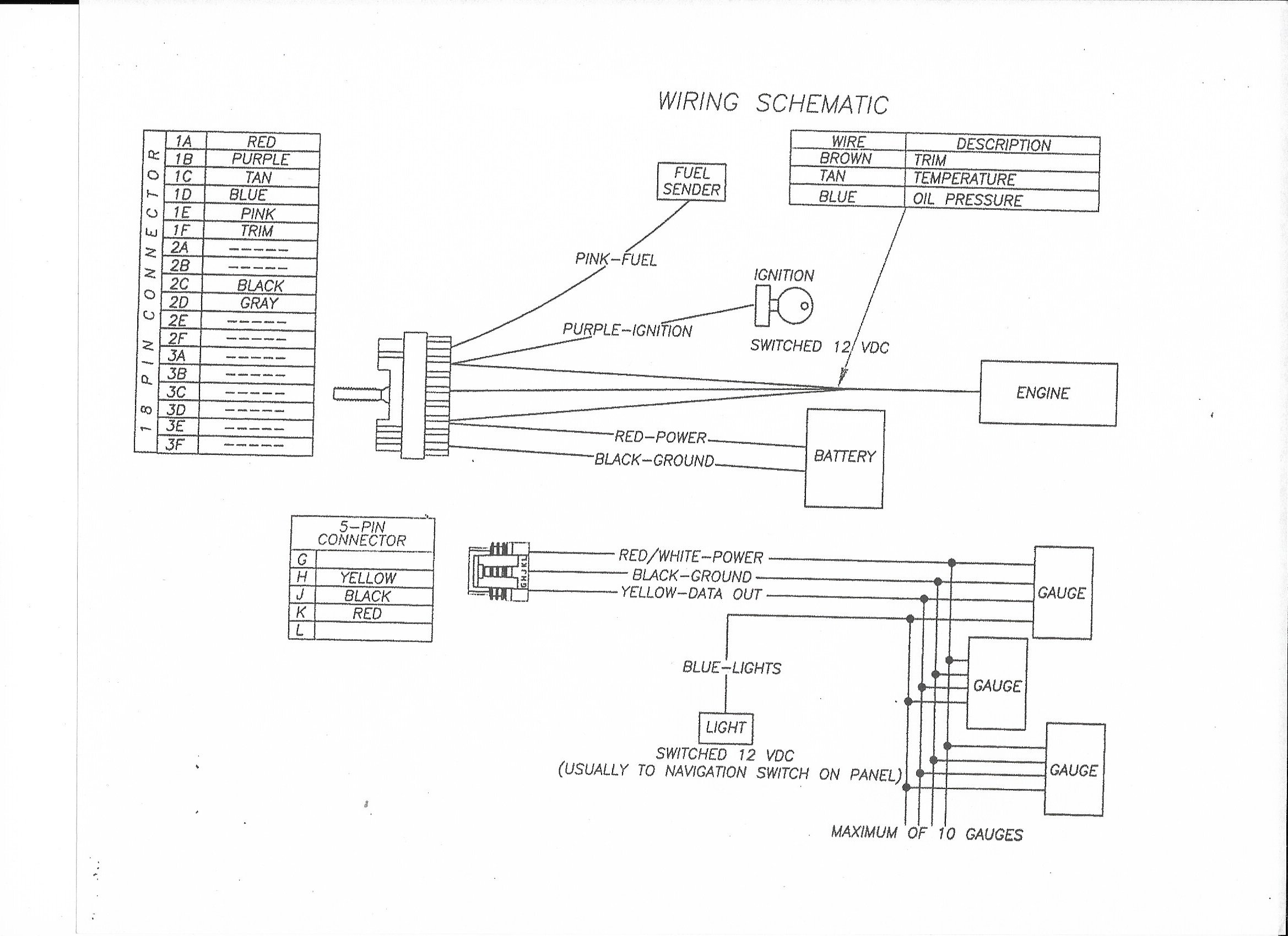 Yamaha 10 Pin Wiring Harness Diagram from f01.justanswer.com
